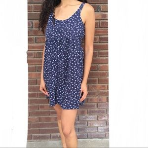 Abercrombie & Fitch Button Up Swing Dress